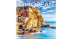 European Destinations Wall Calendar (Item # LML728)