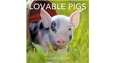 Lovable Pigs Wall Calendar (Item # LML743)