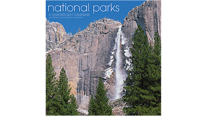 Landmark 2017 National Parks Wall Calendar - Decorative Calendars 930201