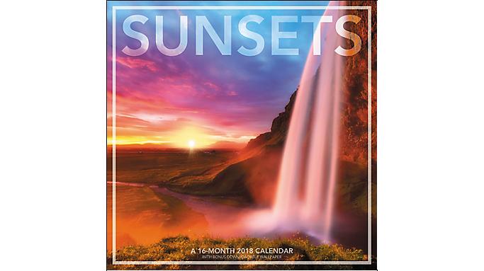 Landmark Sunsets Wall Calendar - Wall Calendars 936207