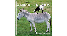 Unlikely Animal Friends Wall Calendar (Item # LML758)
