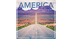 America the Beautiful Wall Calendar (Item # LML761)