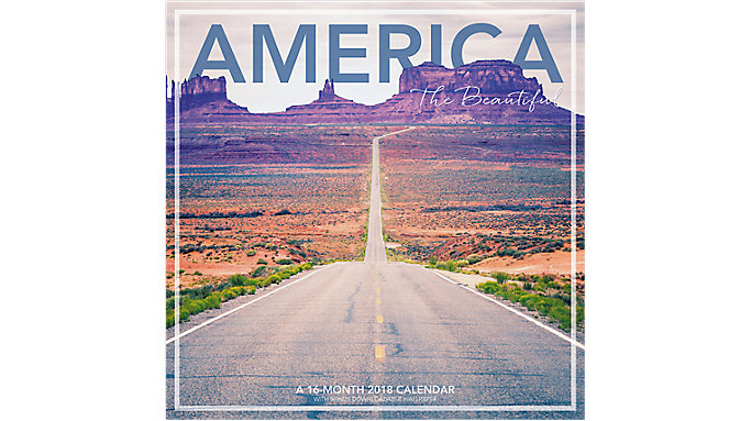 Landmark America the Beautiful Wall Calendar  (LML761)