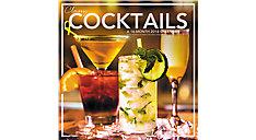 Classy Cocktails Wall Calendar (Item # LML772)