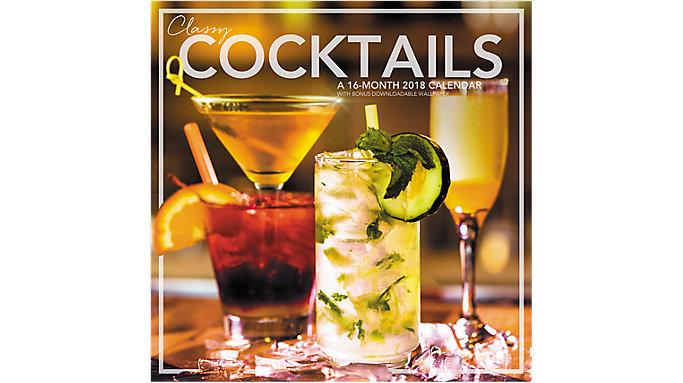 Mead Classy Cocktails Wall Calendar  (LML772)