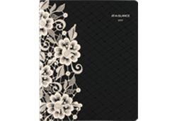AT-A-GLANCE Lacey with Lace Detailed Planner