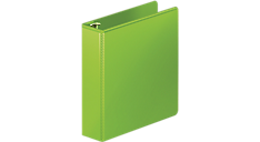 2 inch binders zipper binder mead