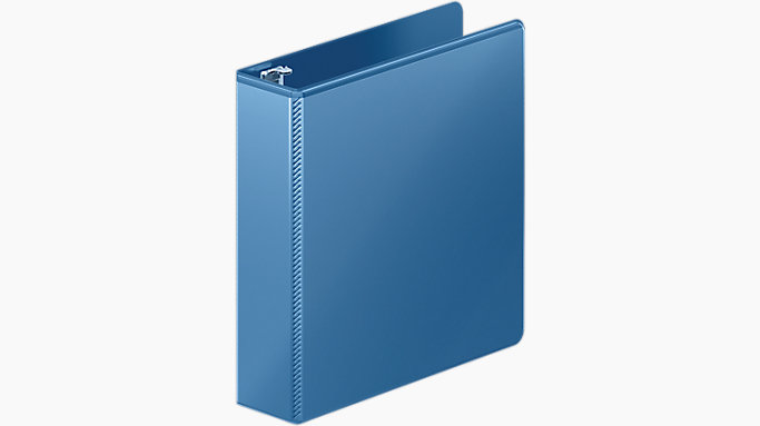 heavy duty 2 inch d ring view binder m866 44 mead