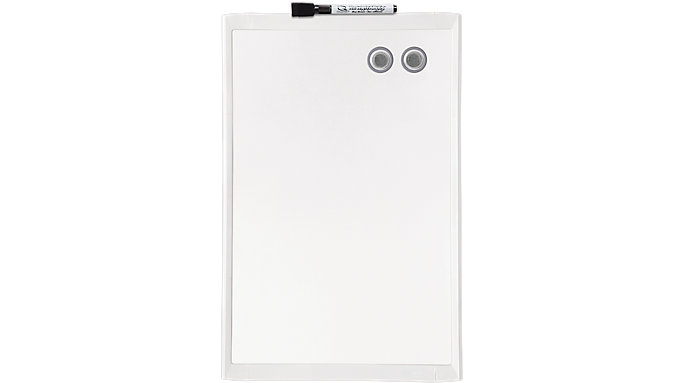 Quartet Magnetic Dry Erase Board with Frame 11x17  (MHOW1117)