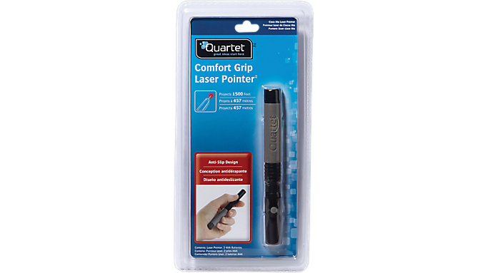 Quartet Classic Comfort Laser Pointer  (MP-2703GQ)