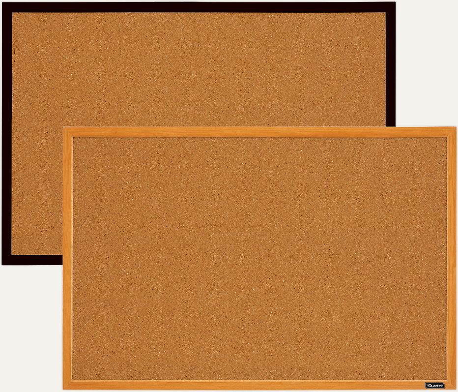 Cork Board With Wood Frame 36x24 Mwdb2436m Quartet