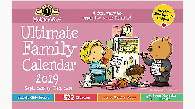 moms ultimate magnetic family fridge calendar mwmk01 mead