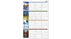 Seasons in Bloom Erasable Wall Calendar (Item # PA133)