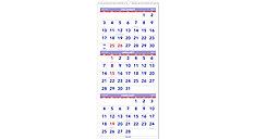 3-Month Vertical Wall Calendar (Item # PM11)