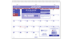 Monthly Desk-Wall Calendar (Item # PM170)