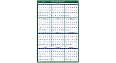 Vertical Erasable Wall Calendar (Item # PM210)
