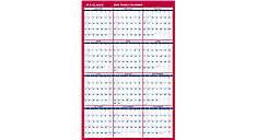 Paper Vertical-Horizontal Wall Calendar (Item # PM212)