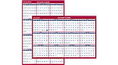 2-Sided Erasable Wall Calendar (Item # PM26)