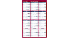 2-Sided Erasable Wall Calendar (Item # PM26)