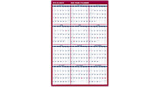 2-Sided Erasable Wall Calendar (Item # PM26B)