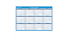 Horizontal Erasable Wall Calendar (Item # PM300)