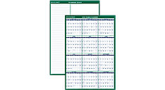 XL Vertical Erasable Wall Calendar (Item # PM310)