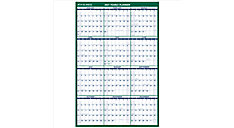 Vertical Erasable Wall Calendar (Item # PM310)