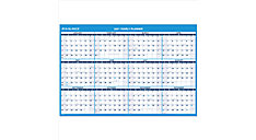 XL 2-Sided Erasable Wall Calendar (Item # PM326)