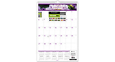 Floral Wall Calendar (Item # PM44)