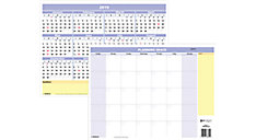 QuickNotes Compact Erasable Wall Calendar (Item # PM550B)