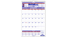 3-Month Wall Calendar (Item # PM6)