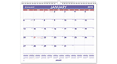 Monthly Wall Calendar (Item # PM8)