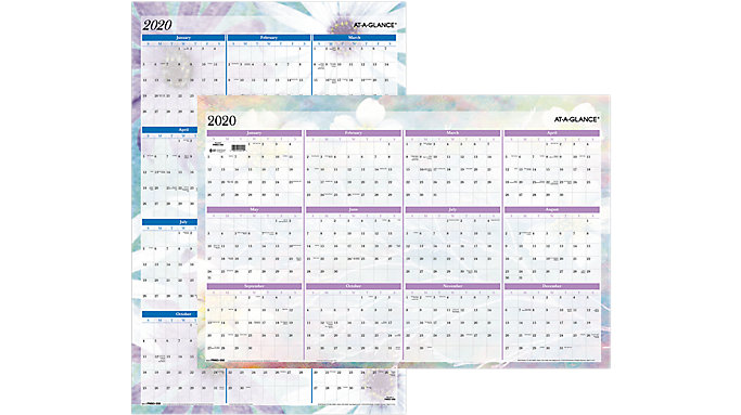 AT-A-GLANCE Dreams Erasable Wall Calendar  (PM83-550)