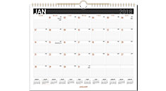 Contempo Monthly Wall Calendar (Item # PM8X)