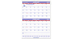 Two Month Wall Calendar (Item # PM9)