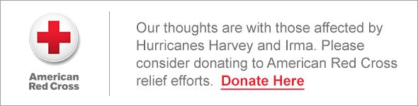 Donate to help victims of Hurricanes Harvey and Irma.