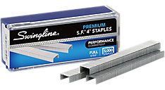 S.F. 4 Premium Staples 5000 Per Box 10 Box Pack (Item # S7035450)