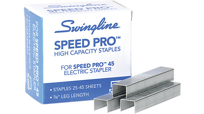 Swingline Speed Pro High Capacity Staples 5000 Per Box  (S7035465)