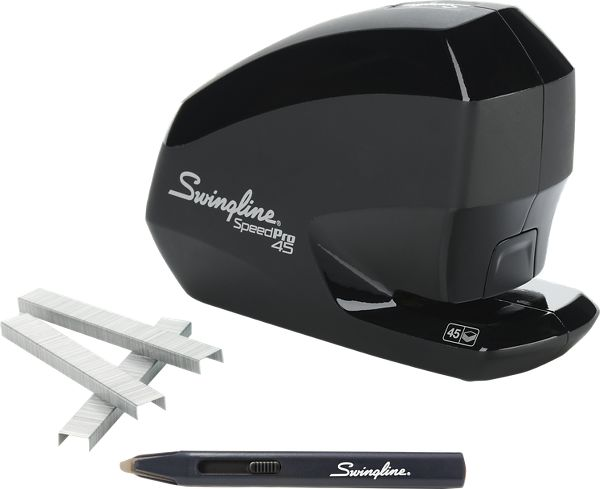 Swingline Speed Pro 45 Electric Stapler Value Pack - Staplers & Supplies