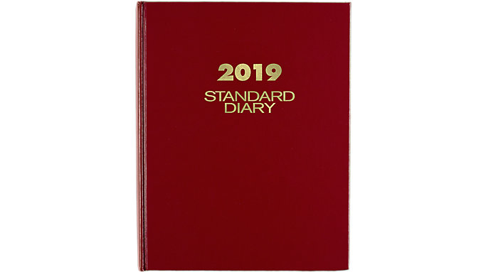 AT-A-GLANCE Standard Diary Daily Diary  (SD374)
