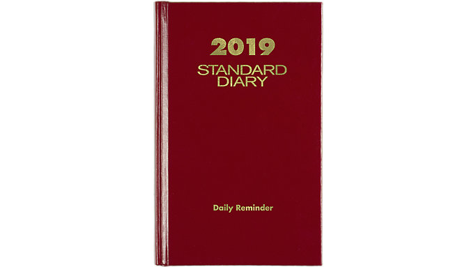 AT-A-GLANCE Standard Diary Daily Diary  (SD385)