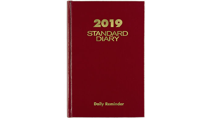 AT-A-GLANCE Standard Diary Daily Diary  (SD387)