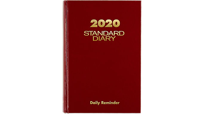 AT-A-GLANCE Standard Diary Daily Diary  (SD389)