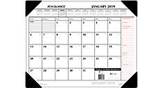 2 Color Monthly Desk Pad (Item # SK1170)
