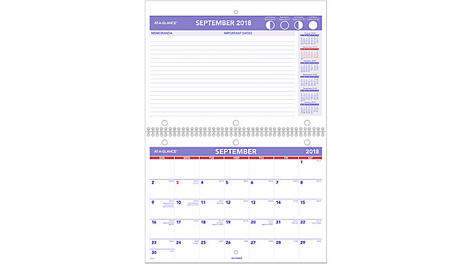 academic plan a month wall calendar sk16 at a glance
