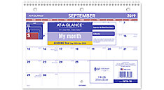 Academic Plan-A-Month Wall Calendar (Item # SK16)