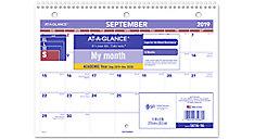 Academic Plan-A-Month Wall Calendar (Item # SK16)