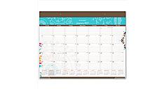 Suzani Monthly Desk Pad Calendar (Item # SK17-704)