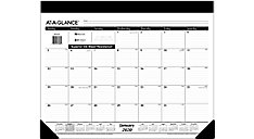 Refillable Monthly Desk Pad (Item # SK22)