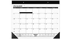 Refillable Monthly Desk Pad Calendar (Item # SK22)